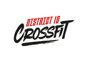 Webdesign project District 10 Crossfit